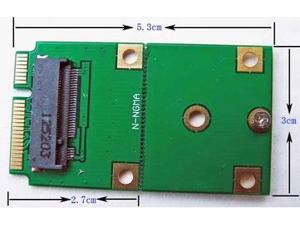 B Key M.2 NGFF SSD Converted To mSATA Adapter Converter Card Board Replacement
