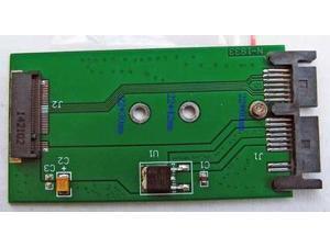 "M.2 NGFF SSD Converted To 1.8"" Micro SATA 7+9 16pin Adapter Converter Card Board"