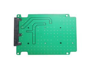 """Mini PCI-E mSATA SSD 50mm to 2.5"""" SATA 3 7+15 Pin Adapter Converter Card"""