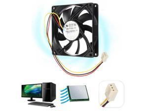 3 Pin 80mm 15mm PC CPU Cooling Fan Heatsink Cooler Radiator For Computer 12V 8cm