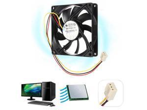 3 Pin 80mm 15mm PC CPU Cooling Fan Heatsink Cooler Radiator For Computer 12V 8cm