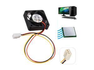 12V Internal Desktop Computer CPU Case Cooling Cooler Silent Fan 4cm