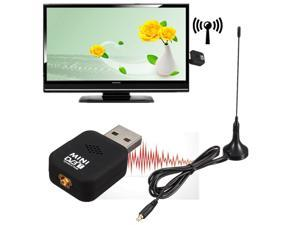 DVB-T Mini USB 2.0 Digital TV HDTV Stick Tuner Recorder Receiver Remote Control