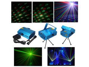 6 in 1 Mini Voice Control R&G Laser Stage Light Lighting Projector DJ Disco Bar Club KTV Ball Christmas Xmas Party Light