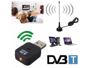 New USB DVB-T Digital TV Receiver Tuner Dongle MPEG-2 MPEG-4 For Laptop PC