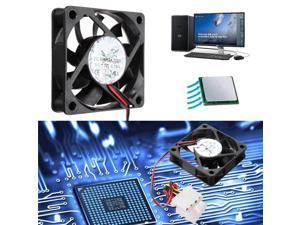 6cm New 12V 4 Pin Internal Desktop Computer CPU Case Cooling Cooler Silent PC Fan DC