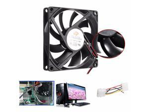 80mm 15mm 12V 4 Pin Cooler Fan Heatsink Cooling Radiator For Computer PC CPU