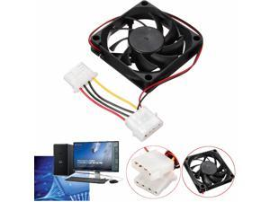 70mm 15mm 12V 4 Pin Cooler Fan Heatsinks Cooling Radiator For Computer PC CPU