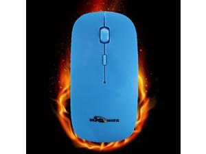 BESTRUNNER Pro 2.4GHz Wireless Optical Mouse Mice+USB Receiver For PC Laptop-Blue