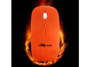 BESTRUNNER Pro 2.4GHz Wireless Optical Mouse Mice+USB Receiver For PC Laptop-Orange
