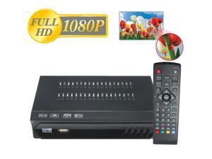 Full HD 1080P DVB-S2 HDMI Digital Video Broadcasting Satellite TV Receiver Set Top Box