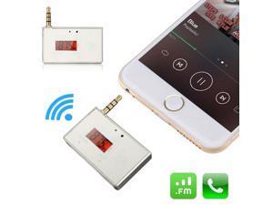 LCD 3.5mm Wireless Car Radio FM Transmitter Modulator Handsfree For iPhones6 6s iPod Table