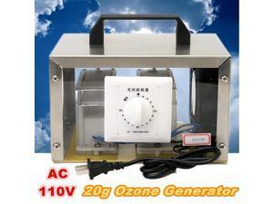 110V 20g Ozone Generator 20000mg/h Ozone Disinfection Machine Home Air Purifier