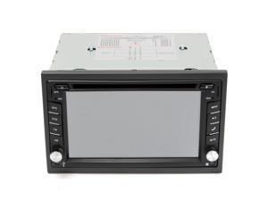 6.2Car DVD Player 2DIN In Dash GPS Navigation+FM+Bluetooth+Radio Stereo+Camera