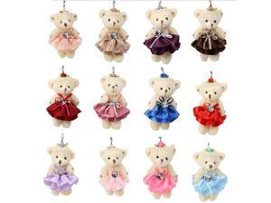 valentine's day gift Plush bear toys Key chain 1pc