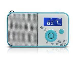 PANDA DS-111 mini digital portable MP3 player card small speaker stereo player elderly green
