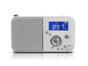 PANDA DS-111 mini digital portable MP3 player card small speaker stereo player elderly white