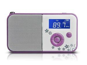 PANDA DS-111 mini digital portable MP3 player card small speaker stereo player purple elderly