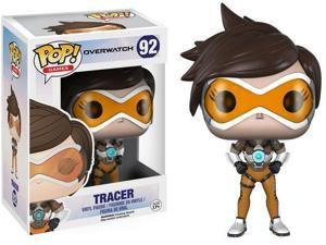 Overwatch anime around FUNKO Q version Tracer yellow