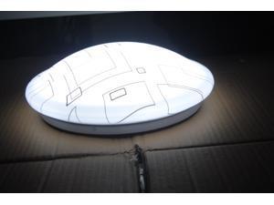 Home Indoor use Ceiling LED  Round Flush Mount Light White BO-MKR23B, 24 Watt 24 Leds