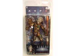 """Aliens Vs. Predator Requiem Series 4 7"""" Figure Battle Damaged Predator Masked"""
