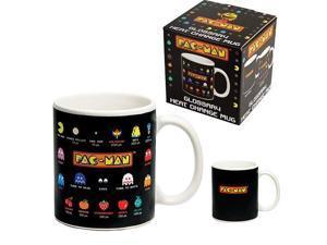 Pac-Man Character Glossary Heat Change Mug