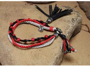 The Lone Ranger Lone Ranger Braided Beaded Bracelet