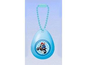 Super Mario Mini Sound Drop Swing Clip On Keychain Mario Motorcycle