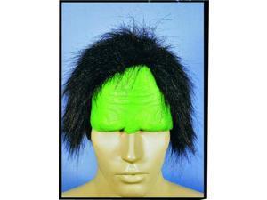 Munstrosity Green Monster Costume Headpiece One Size