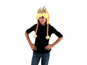 Dr. Seuss Lorax Costume Laplander Hat Adult One Size
