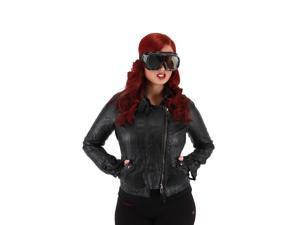 Apocalypse Costume Goggles Adult: Black One Size