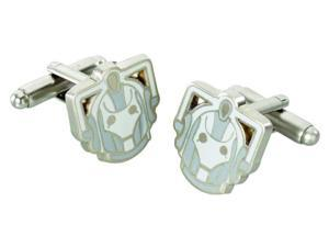 Doctor Who Cyberman Metal Cufflinks