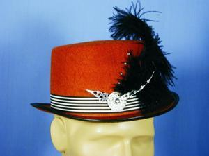 Steampunk Rust Costume Top Hat One Size