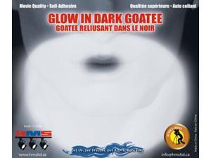 Glow In The Dark Costume Goatee Beard Adult One Size