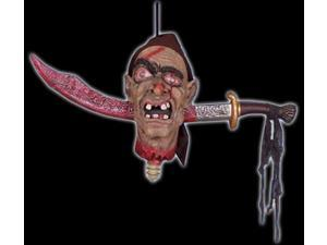 Pirate Rattle Head Animated Prop