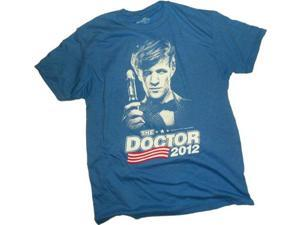 Doctor Who Election 2012 Adult T-Shirt Large