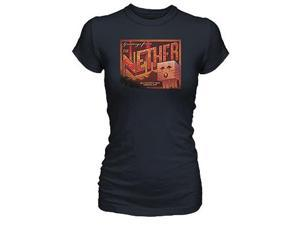 Minecraft Nether Postcard Women's T-Shirt Adult Large