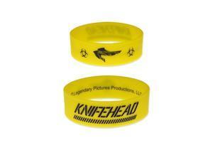 Pacific Rim Rubber Bracelet Knife Head