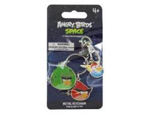 Angry Birds Space Metal Keychain Red, Green, Blue Bird Set A