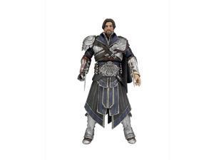 """Assassins Creed Brotherhood 6"""" Figure Unhooded Ivory Ezio"""