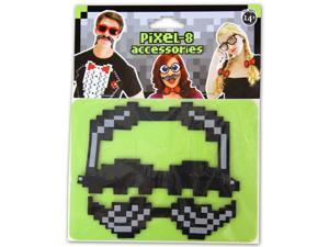 Pixel-8 Costume Moustache Set One Size