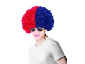 Atlanta Braves Costume Wig Adult One Size Fits Most