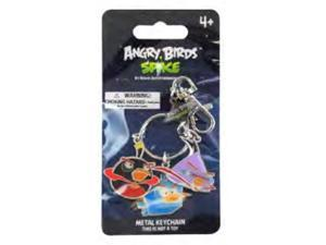 Angry Birds Space Metal Keychain Black, Purple, Ice Bird Set B