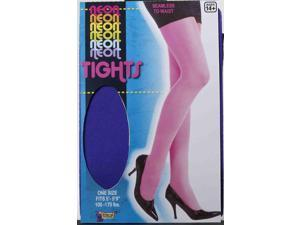 Purple Neon Tights Adult Costume Accessory One Size