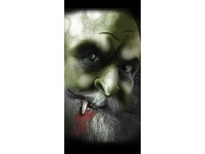 """Spooky Scene Window Shadows Decor """"Evil Warlock"""""""