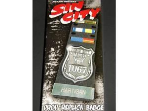 Sin City Badge Prop Replica - Hartigan