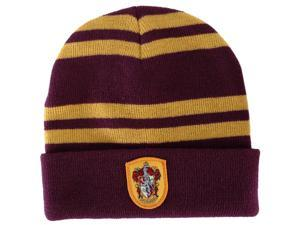 Harry Potter Gryffindor House Knit Hat Costume Beanie Adult One Size