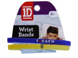 1D One Direction Wrist Band 2 Pack Zayn