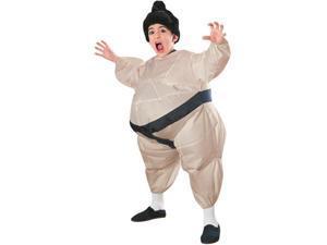 Sumo Wrestler Inflatable Child Costume Standard