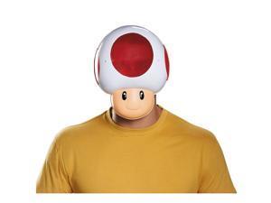Nintendo Super Mario Bros Toad Costume Mask Adult